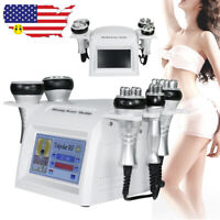 5IN1 Ultrasonic Cavitation Radio Frequency Vacuum RF Body Slimming Machine Easy