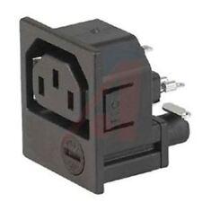 Schurter F Snap-In IEC Socket