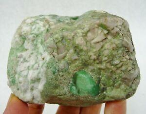 Natural Lucin Variscite in Matrix Lapidary Rough Stone Utah 274 grams