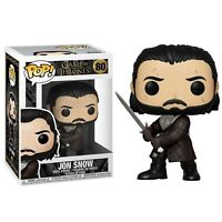 Pop! Funko Num 80 Game of Thrones GOT Vinyl Figure Jon Snow Serie Tv Telefilm