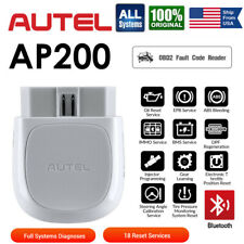 NEW AUTEL AP200 Professional BT Scanner ABS SRS BMS DPF SRS Injector TPMS EPB US