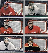 2003/04 McDONALDS ATOMIC NET PROTECTORS COMPLETE INSERT SET OF 6