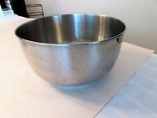 """vintage sunbeam mixmaster 100-86669 replacement stainless steel mixing bowl 6"""""""