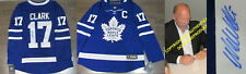 WENDEL CLARK SIGNED AUTOGRAPHED TORONTO MAPLE LEAFS FANATICS LICENSED JERSEY COA