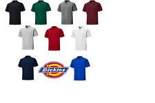 Dickies Short Sleeve Mens Polo T Shirt - Workwear Small - 4XL SH21220 8 Colours!