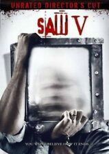 Saw V - DVD - VERY GOOD - FREE SHIPPING