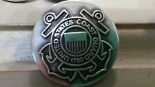 """United States Coast Guard Lot of 4 Drawer Pulls with Screws Approximately 1 1/4"""""""