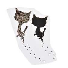 two cute cats iron on patch transfers stickers for t-shirts dress diy patch Pip