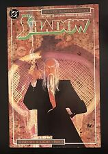 THE SHADOW  Issue #4 NOVEMBER 1987 DC COMICS  ***GREAT SHAPE!!***