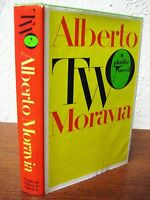 1st Edition Two Alberto Moravia Phallic Novel Fiction First Printing