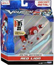 """Playmates DREAMWORKS Voltron Legendary Red Lion 5"""" Diecast Action Figure / NIB"""