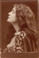 ELEANORA DUSE legendary actress original Studio d'Arte Sciutto cabinet photo