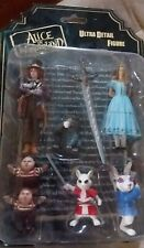 New listing 7 in 1 Alice in Wonderland Movie Ultra Detail Figures