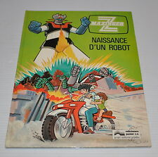 - MAZINGER Z Naissance d'Un Robot BD French Comic Book GOLDORAK 1979 -