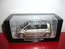 (23.3.15.1) VW Volkswagen concept car UP! UP gris voiture 3 inch inches Norev