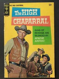 1968 HIGH CHAPARRAL TV WESTERN COMIC # 1 (VG-)~
