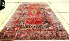 """Beautiful Special Interesting Antique Oriental Rug Large Size 10' 6"""" x 19' 2"""""""