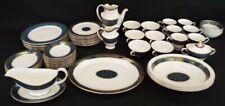 More details for vintage royal doulton 61 piece carlyle porcelain dinner service - l35