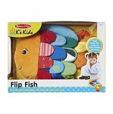 Melissa & Doug Infant - Child Flip Fish Multi - Textured Soft Toy
