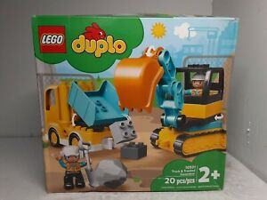 LEGO DUPLO - Truck & Tracked Excavator (10931)