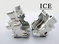 Losi 1/5 Alloy Front Diff Housing ICE RC Losi 5ive Rovan LT KM X2 ICE3030 SILVER