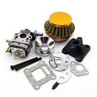 Carburetor Air Filter Stack Kit Performance 47cc 49cc Pocket Bike Mini Quad ATV