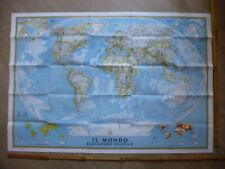 Cartina Mondo National Geographic.Planisfero Politico In Vendita Mappe Cartine E Atlanti Ebay