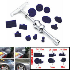 Car Body Paintless Dent Repair Puller Lifter T-Bar Hail Removal Tool+12 Tabs