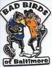 BAD BIRDS OF BALTIMORE RAVENS ORIOLES PATCH IRON ON