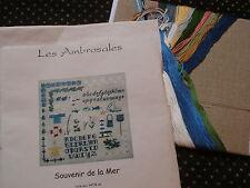 "Kit Les Ambrosales ""souvenir de la mer"""