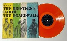 THE DRIFTERS UNDER THE BOARDWALK RARE ORANGE VINYL! RARE 1964 TAIWAN  PRESSING!