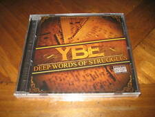 Chicano Rap CD YBE aka Lil Yogi - Deep Words of Struggles - KING LIL G Slowpoke
