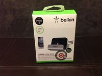 Belkin Charge + Sync Dock with Lightning Cable for iPhone 5 5s 5c, iPod touch 5