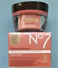 Boots No7 Restore and Renew Face & Neck MultiAction Night Cream By Boots - 50ml