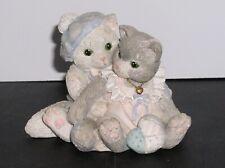 "Calico Kittens ""The Purr-fect Love"" Porcelain Figure Figurine Cat Feline Enesco"