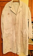 Vintage Go-Pfor Shop Coat mechanic distressed metal donut buttons union made