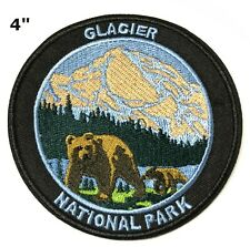 Glacier National Park Embroidered Patch Iron / Sew-On Souvenir Gear Applique