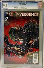 CONVERGENCE 0 CGC 9.6. ZIRCHER VARIANT! HOT SERIES FROM DC!