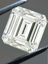 1.63 ct Vs2/7.12 Mm Genuine I-j White Emereald Color Loose Moissanite 4 Ring
