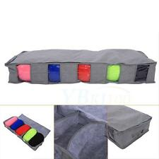 Large Bamboo Charcoal Clothing Storage Organizer Box Underbed Pillow Sweater Bag