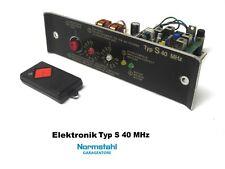 Normstahl Motorsteuerung Elektronik S 40 MHz Garagentorantrieb Handsender +