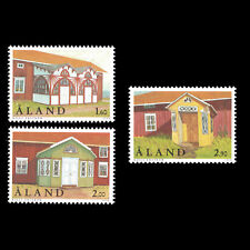 Aland 1998 - Foyers Architecture House - Sc 149/51 MNH