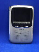 "Casio Handheld Color TV EV-570 BBAZM 2.5"" TFT Active Matrix Display  Parts 79-10"