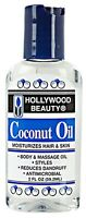Hollywood Beauty Coconut Oil, 2 oz (Pack of 2)