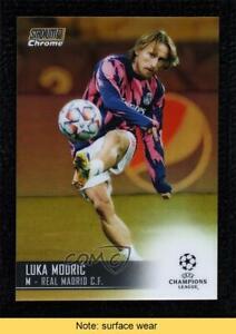 2020 Topps Stadium Club Chrome UEFA Champions League 20/50 Luka Modric #79 READ
