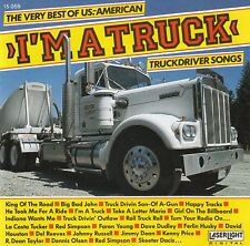 I'M A TRUCK - TRUCKDRIVER SONGS / CD