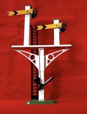 More details for hornby meccano 0 gauge junction signal no.2 double arm distant signal 42362