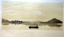 DUMONT D'URVILLE - PHILIPPEVILLE  CHILI-ARGENTINE. Litho originale de LEBRETON.