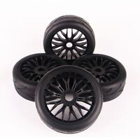 4PCS On-Road Tires& Y Spoke Wheel 17mm Hex For HPI HSP Traxxas 1:8 RC Buggy Car