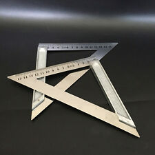 15cm Precision Measuring Aluminium Alloy Right Angle Ruler For Woodworking New